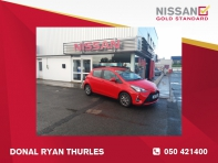 TOYOTA YARIS luna 1.0      DONAL RYAN MOTOR GROUP THURLES 050421400